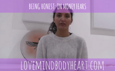 BEING HONEST: ON MONEY FEARS