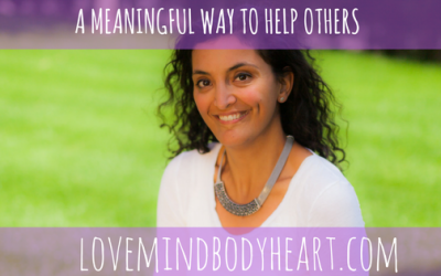 A MEANINGFUL WAY TO HELP OTHERS