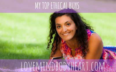 MY TOP 5 ETHICAL BUYS